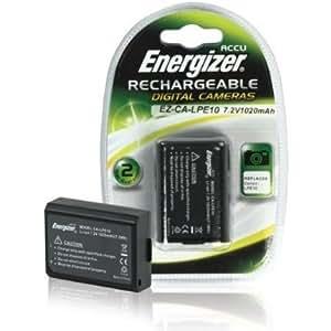 Energizer EZ-CA-LPE10 Chargeur Noir