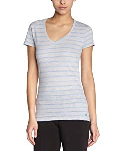 Under Armour Charged Cotton Undeniable T-Shirt femme Aluminum/Water XS