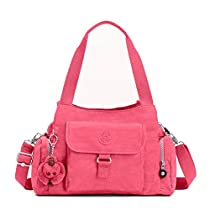 Kipling Felix L Crossbody, Vibrant Pink, One Size