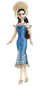 Sumatra Indonesia Barbie Doll