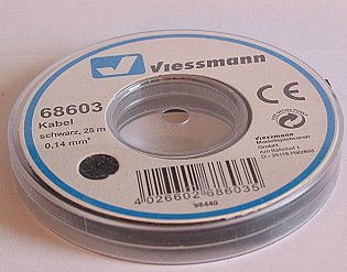 VIESSMANN 68603 Kabelring, Litze, 25m, 0,14 mm²