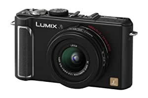 Panasonic DMC-LX3 10.1MP Digital Camera with 24mm Wide Angle MEGA Optical Image Stabilized Zoom (Black)
