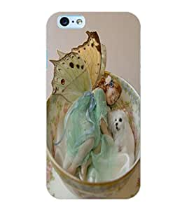 ColourCraft Cute Baby Angel Design Back Case Cover for APPLE IPHONE 6S
