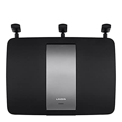 Linksys EA6900 AC1900 Wi-Fi Wireless Router Dual Band Router with Gigabit and USB 3.0 Ports Smart Router Wi-Fi App Enabled to Control Your Network from Anywhere - (Certified Refurbished)