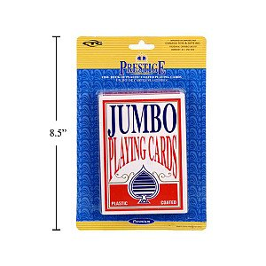 Prestige Jumbo Playing Cards - 1