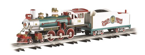 Williams By Bachmann Ringling Bros. And Barnum & Bailey Baldwin 4-6-0 O Scale Steam Locomotive front-308016