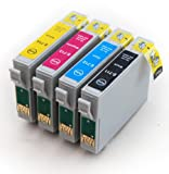 Epson Stylus DX4450 Multipack of 4 Compatible Printer Ink Cartridges