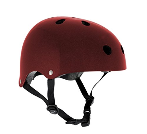 sfr-skate-scooter-bmx-helmet-metallic-red-l-xl-57cm-59cm