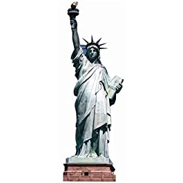 Cut Outs - Lifesize Cut-Out Statue of Liberty (in 191 cm)