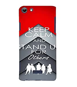 PrintVisa MICSELFIE3Q348-Quotes & Messages Stand Up Plastic Back Cover (Multicolor)