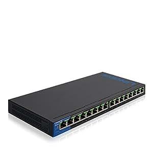 Linksys 16-Port Business Desktop Gigabit PoE+ Switch