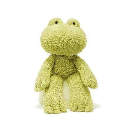 Gund Fuzzy Frog Stuffed Anima