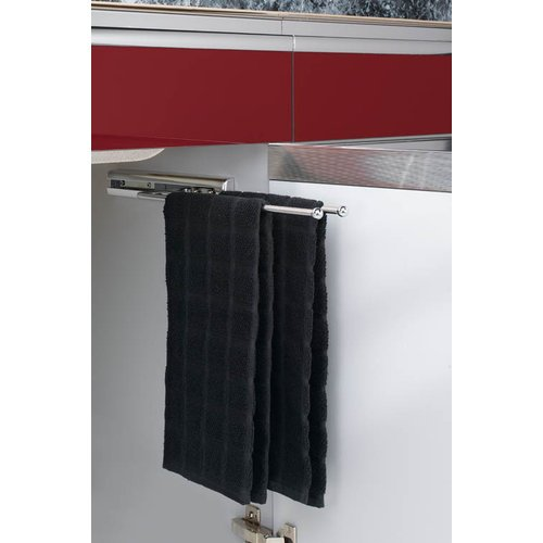 Rev-A-Shelf 563-47 563 Series 3 Prong Towel Bar with 12