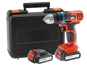 Black & Decker EGBL14KB 14.4V Bohrschrauber mit 2. Akku  BaumarktKundenbewertung und Beschreibung