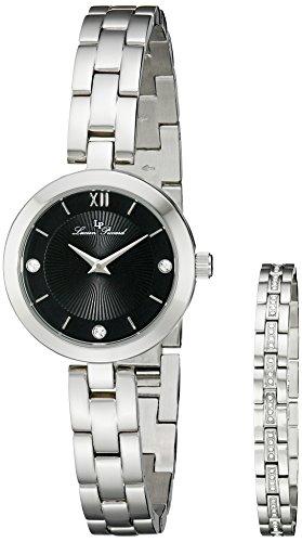 Lucien Piccard Carina Women's 28mm Synthetic Sapphire Quartz Watch 10050-11-SET