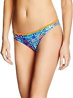 JUST CAVALLI Braguita de Bikini (Azul / Naranja)