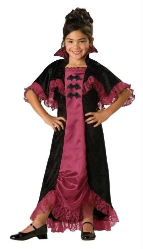 Costumes For All Occasions Ic17004C10 Midnight Vampiress 2B Child 10