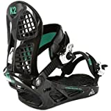 K2 INDY SNOWBOARD BINDINGS Black Medium