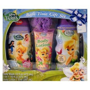 Disney Fairies Bath Time Gift Set
