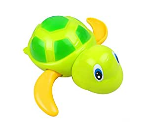 1pcs baby bath swimming cool little turtle for Little fish toys