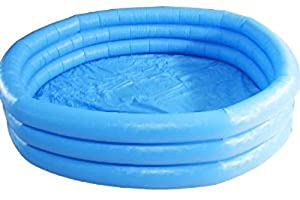 Kiddie Pool - Intex - Inflatable Crystal Blue Swimming Pool For Children,58