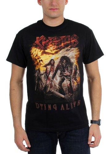 Kreator - - T-Shirt alevros morirai vivente nero X-Large