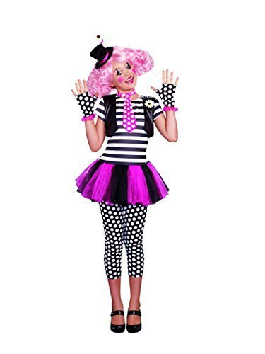 [SugarSugar Girls Clownin' Around Costume, One Color, Small, One Color, Small by Dreamgirl International -] (Clownin Around Girls Costumes)