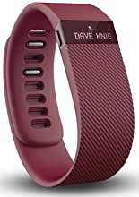Bracelet Connecté FitBit Charge Rouge Bordeaux