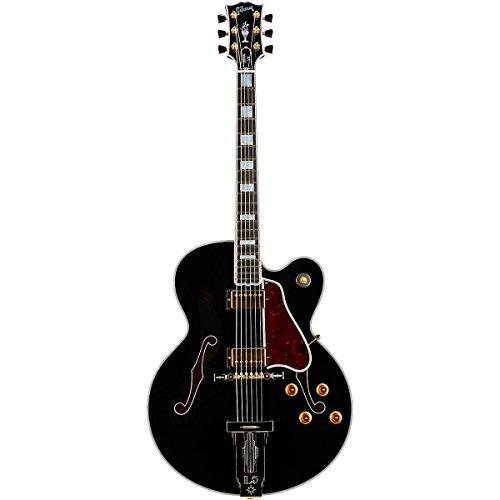 Gibson Custom Shop Hslcebgh1 Hollow-Body Electric Guitar, Ebony