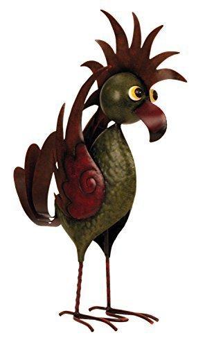 Cooler metall vogel gartendeko stehend h he 54 cm sowie for Gartendeko metall vogel