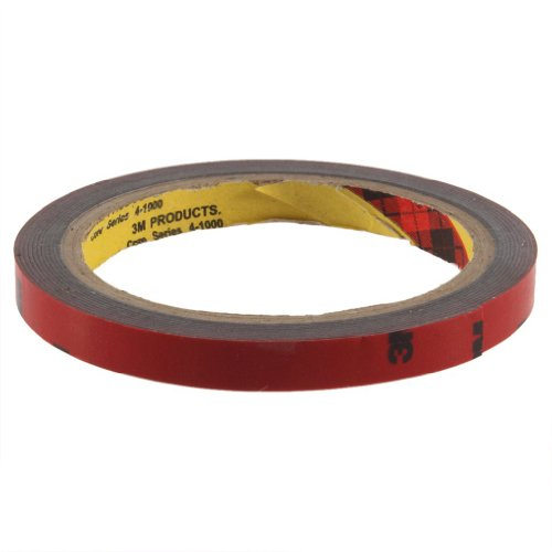 Sodial(R) 3M 10Mm Car Auto Truck Acrylic Foam Double Sided Attachment Adhesive Tape