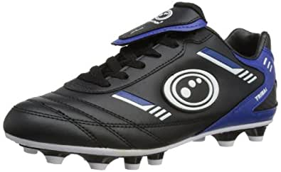 Optimum Mens Tribal Moulded Rugby Boots RBTMSBBS7 Black/Blue 7 UK, 40 EU