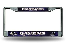 Baltimore Ravens Chrome Frame