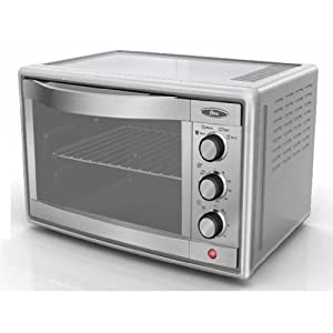 Amazon.com: Oster TSSTTVRB04 6-Slice Convection Toaster Oven, Brushed ...