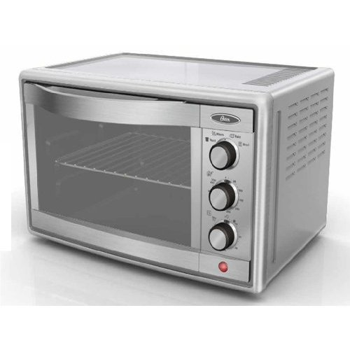 Oster Tssttvrb04 6 Slice Convection Toaster Oven Brushed