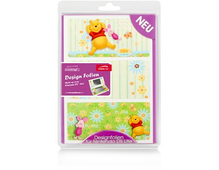 Nintendo DS Lite - Coversticker Pooh & Piglet, Fun in the sun, Nintendo DS