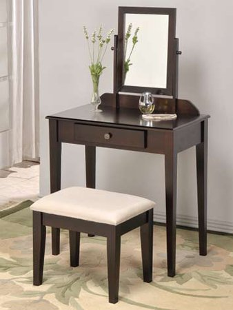 Wooden Vanity Set in Espresso Finish ADS5055-esp