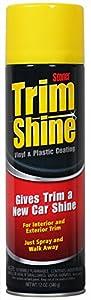 Stoner 91034 Trim Shine Vinyl and Plastic Coating - 12 oz.