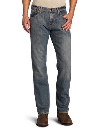 Wrangler Men's Retro Slim Fit Straight Jean,White Lightning,29x30
