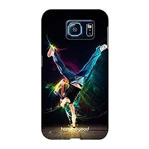 HomeSoGood Professional Dancers Black 3D Mobile Case For Samsung S6 ( Back Cover)