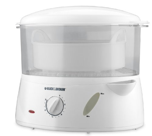 Black & Decker HS1000C White Handy Steamer