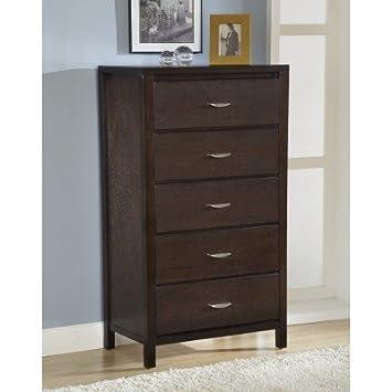 Modus Furniture 2O2684 Urban Loft Five Drawer Chest