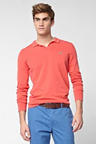 Pima Cotton Johnny Collar Sweater