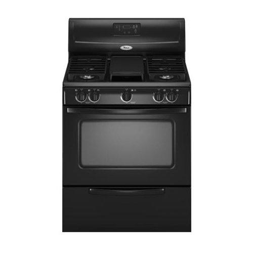 buy whirlpool wfg231lvb 30 gas range black coupon deals. Black Bedroom Furniture Sets. Home Design Ideas