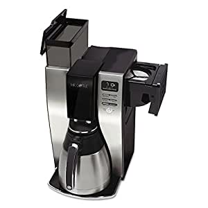 Mr. Coffee BVMC-PSTX91 Optimal Brew 10-Cup Thermal Coffeemaker, Black/Stainless Steel