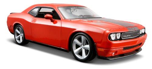Maisto Special Edition Orange 2008 Dodge Challenger Srt8 Diecast Vehicle (1:24 Scale)