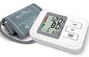 Biosync Tensiomètre Électronique au Bras avec Détection arythmie avec mémoire, date, l'heure - y compris brassard adulte