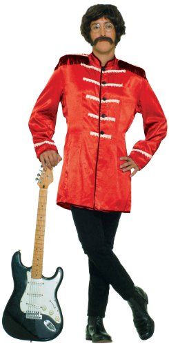 Forum Novelties Men's British Invasion Costume Jacket, Red, One Size (British Invasion Jacket compare prices)