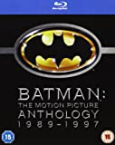 Batman - The Motion Picture Anthology 1989-1997 [Blu-ray][Region Free] [2005]