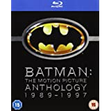 "Batman Legacy - Batman, Batman Returns, Batman Forever, Batman and Robin [Blu-ray] [UK Import]von ""Michael Keaton"""